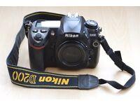 Nikon D200 digital slr camera with Lowepro DLSR camera case & orginal box, Thatcham, Berkshire