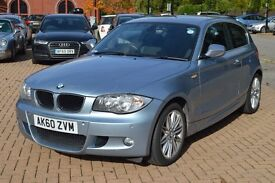 BMW 1 Series 2.0 118d M Sport 3dr Auto (FSH, F/R PDC, Cruise Ctrl, Heated Seats)