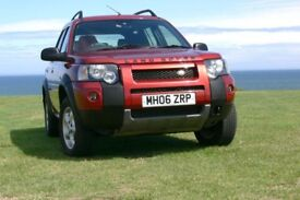 Freelander face lift is real 4x4 with M47 2.0 TDi Engine.