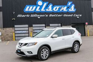 2014 Nissan Rogue SL AWD! NAVIGATION! HEATED LEATHER! PANO SUNRO