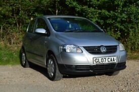 VW Fox 1.2, LOW MILES, 59,000 miles ONLY £1395