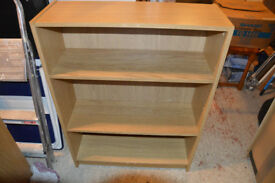 3 Billy Bookcases in Oak Finish