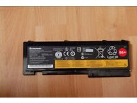 Lenovo FRU P/N 42T4845 ASM P/N 42T4844 ThinkPad Battery 66+ 6 Cell