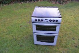 New World Electric Cooker-Ceramic Halogen Hob-Fan Oven-60'Wide