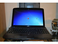 ACER Aspire 5738/5338 MS2264 3gb RAM, Windows 7, DVD/RW, Full size keyboard, Excellent working order