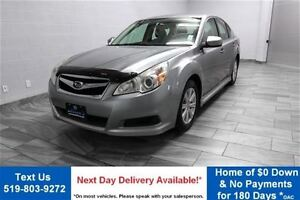 2011 Subaru Legacy 2.5i AWD w/ HEATED SEATS! ALLOYS! POWER PACKA