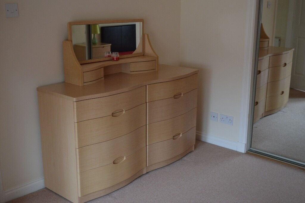 Outstanding High End Alstons Synergy Light Beech Bedroom Furniture Bedside Tables Dressing Table In Elgin Moray Gumtree Download Free Architecture Designs Terchretrmadebymaigaardcom