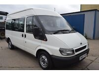 2005 Ford TRANSIT MINI BUS 8 seat in GOOD Condition with MOT Until 2018 JUNE