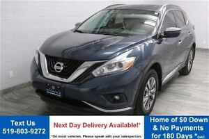 2016 Nissan Murano SV AWD w/ NAVIGATION! PANORAMIC ROOF! REVERSE
