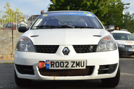 Renault Clio 172 Stage Prepared Rally Car