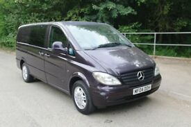 Mercedes Vito Ambiente 111 CDi Long Wheel Base Panel Van. Diesel. 6 Speed Manual. 5 Seats. Bargain.