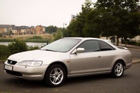 LHD Honda Accord coupe 2.0 petrol 1999 year, 170.000 miles