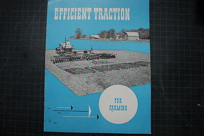 Caterpillar Farm Vintage D2 D4 D6 D8 Tractor Dozer Brochure Manual Magazine Cat