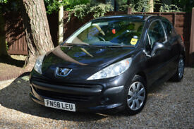 """PEUGEOT 207 1.4 HDI S """"""""WITH DUAL CONTROL PEDALS"""""""""""