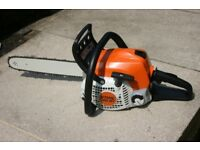 Stihl MS181 petrol chainsaw in excellent condition