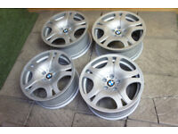 """Genuine BMW 6 Series 19"""" Alloy wheels 5x120 Staggered Style 92 7 Series 5 Series E60 Stance"""