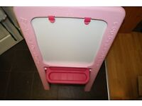 Early Learning Centre Plastic Easel - Pink BRAND NEW !!