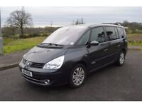 2007 RENAULT G-ESPACE 2.2 AUTOMATIC DIESEL 7 SEATER FULL YEARS MOT