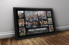 COLLINGWOOD 2010 PREMIERSHIP GLORY TRIBUTE – FRAMED (RRP $199) Glen Waverley Monash Area Preview