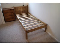 Single Bed Frame & Drawers
