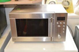 Sainsburys Stainless Steel Microwave - GT 056