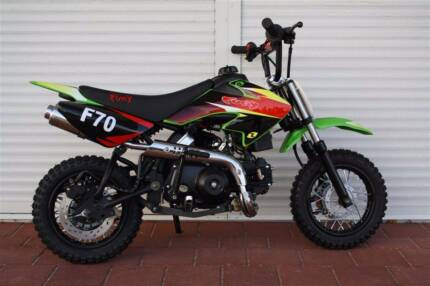 FURY 70CC KIDS DIRT BIKE **interest free finance available t.a.p.