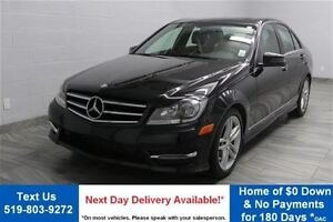 2014 Mercedes-Benz C-Class 4MATIC w/ LEATHER! SUNROOF! HEATED SE