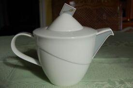 Rosenthal Art Deco Design Bone China Teapot, Capacity 1.5L, in Pristine Condition