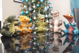 Very rare collectables 'The Land Before Time Characters'