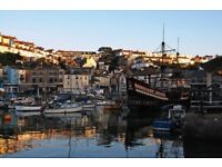 2 Bed Luxury Holiday Lodge sea views and parking, located in Brixham Devon