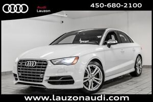 2015 Audi S3 TECHNIK PHARE LED NAV CAMERA