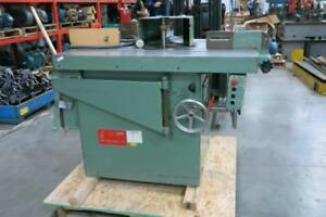 TEGLE Single Spindle Shaper