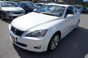 2009 Lexus IS 250 PREMIUM PKG  | LEATHER  SEAT  | SUNROOF  | MIN