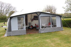 Swift Challenger 570SE Caravan - 2014, with awning and accessories