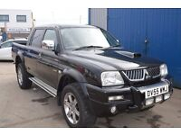 2005 MITSUBISHI L200 ANIMAL LWB 4WD IN GOOD CONDITION WITH MOT UNTIL 2017 OCTOBER