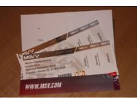 Brands Hatch Masters Series Weekend Tickets May 26/27th 2018
