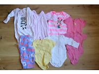 9-12 month cosy sleep suits bundle £5