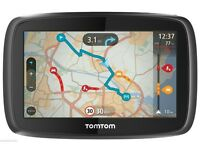 TOMTOM GO 500 5 INCH -UK,ireland & WESTERN EUROPE LIFETIME MAPS boxed ex display