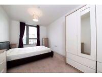 Spacious furnished 2 bedroom 1 bathroom, open living space, close to Pontoon Dock DLR, Royal Docks