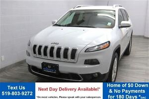 2015 Jeep Cherokee LIMITED w/ LEATHER! HEATED SEATS! ALLOYS! REV