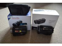 2 HD Camcorders