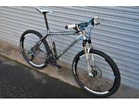 Carrera Kraken Mountain Bike HI SPEC, Rockshox Recon air forks, Deore XT, SLX, Michelin, CUSTOM BIKE