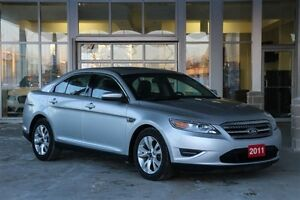 2011 Ford Taurus SEL V6 with Leather & Moonroof Low km One Owner