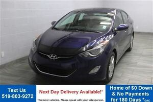 2013 Hyundai Elantra GLS SUNROOF! ALLOYS! BLUETOOTH! HEATED SEAT