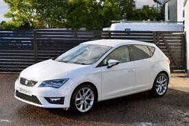 2013 NEW MODEL LEON FR TDI 150 FSSH £20 TAX LOW RATE FINANCE AVAILABLE NOT GOLF GTD 120D A3 A4