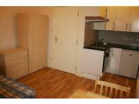 Camberwell SE5. Large, Light & Modern Self Contained Fully Furnished Studio Flat nr Station & Shops