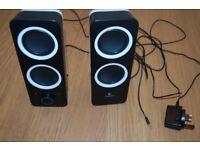 Logitech Z200 AUX Speakers, Very Good Condition