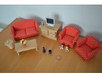 Dolls House Furniture Lot 1