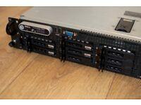 DELL POWEREDGE 2950, 2.50GHz Quad Core 2x, 16GB Ram, 146GB 10K SAS (x4), 750 Watt PSU (x2)