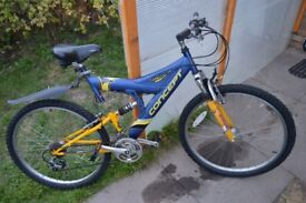 I'm selling Men's bike.Used but is good condition.21 gears, 26 in wheels, full suspension